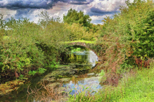 Painting - Overgrown Bridge - Lnd240804 by Dean Wittle