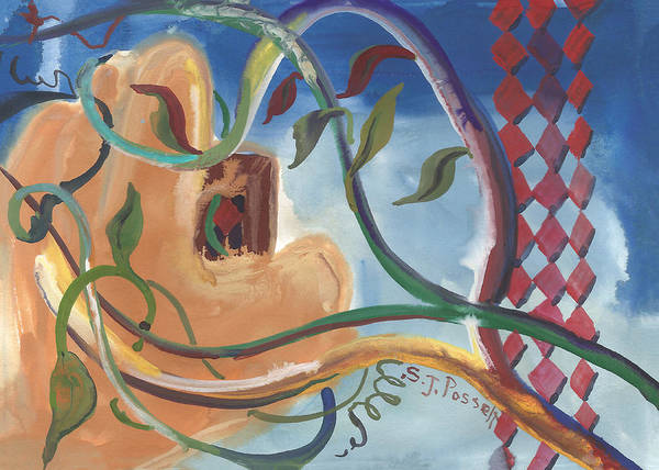 Painting - Overgrown by Sheri Jo Posselt