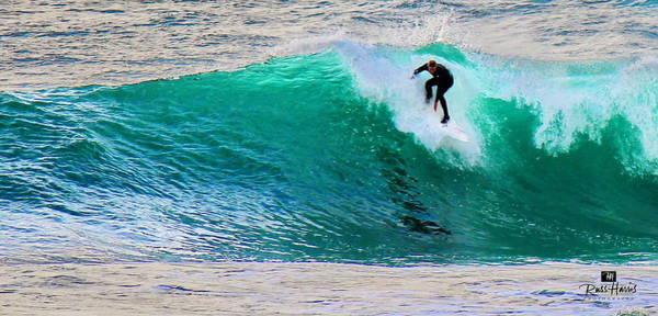 Overhead Surf Art Print