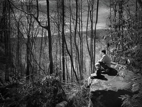 Photograph - Overlook By Rainbow Falls by Kelly Hazel