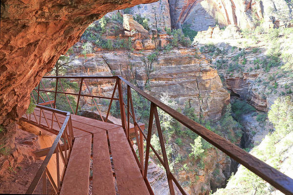 Wall Art - Photograph - Overlook Canyon Trail 2 by Donna Kennedy