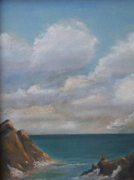 Wall Art - Painting - Overlook by Patricia Caldwell