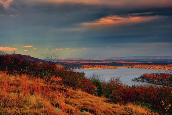 Photograph - Overlooking Culvers Lake by Raymond Salani III