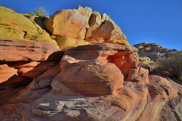 Photograph - Overlooking Pastel Canyon In Valley Of Fire by Ray Mathis