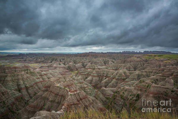 Mv Photograph - Overlooking The Badlands by Michael Ver Sprill