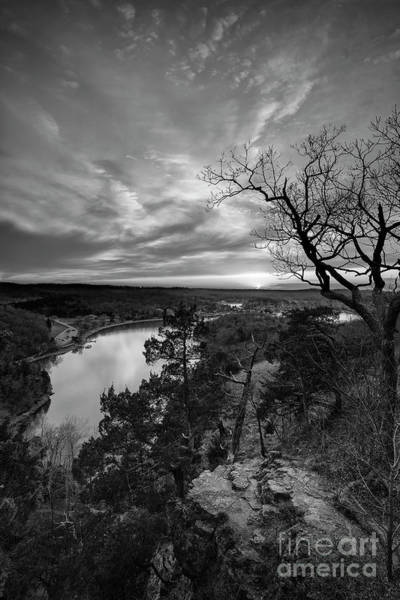 Missouri Ozarks Photograph - Overlooking The Bluff by Dennis Hedberg
