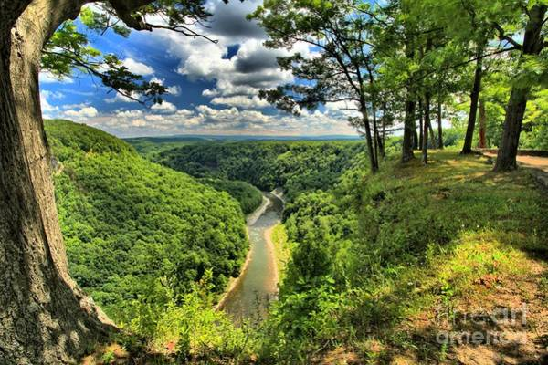 Photograph - Overlooking The Genesee by Adam Jewell