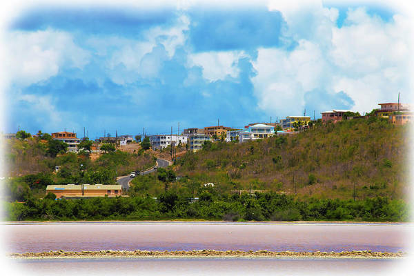 Photograph - Overlooking The Salt Pond At Sandy Ground In Anguilla   by Ola Allen