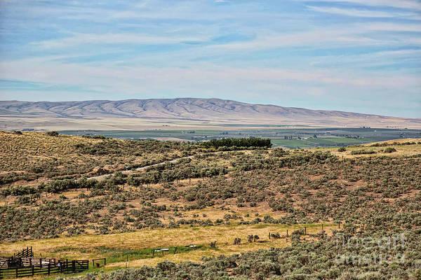 Photograph - Overlooking The Yakima Valley by Carol Groenen