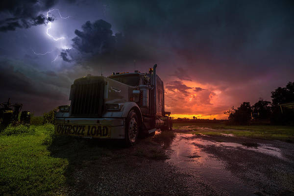 Wall Art - Photograph - Oversize Load  by Aaron J Groen