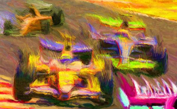 Digital Art - Overtaking by Caito Junqueira