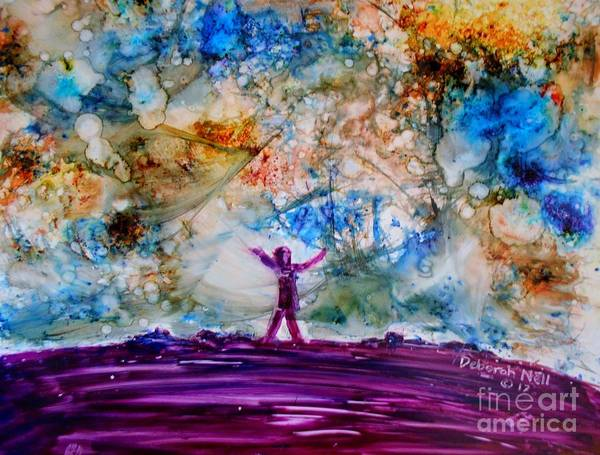 Painting - Overwhelmed by Deborah Nell