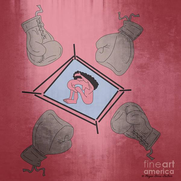 Digital Art - Overworked4 by Megan Dirsa-DuBois