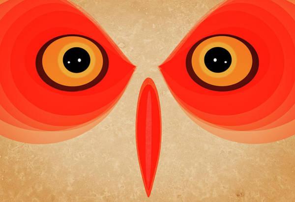 Wall Art - Painting - Owl by Johan Lilja