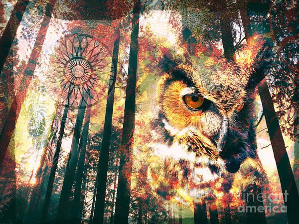 Owl Medicine 2015 Art Print