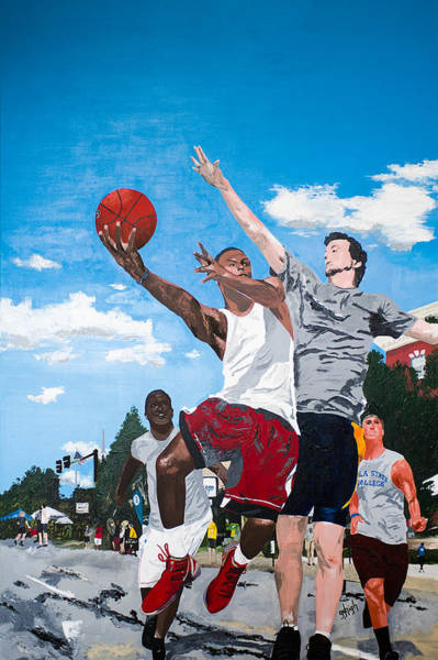 High Jump Painting - Own It by GG High