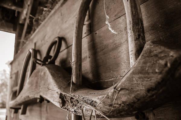 Photograph - Ox Yoke by Chris Bordeleau