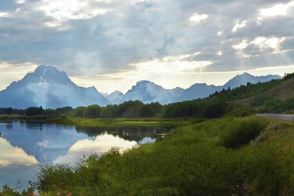 Photograph - Oxbow Bend 13d by Marty Koch
