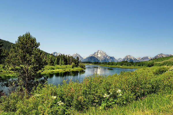Photograph - Oxbow Bend, Grand Teton National Park by Kay Brewer