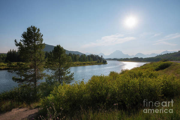 Oxbow Park Photograph - Oxbow Bend Grand Teton National Park  by Michael Ver Sprill