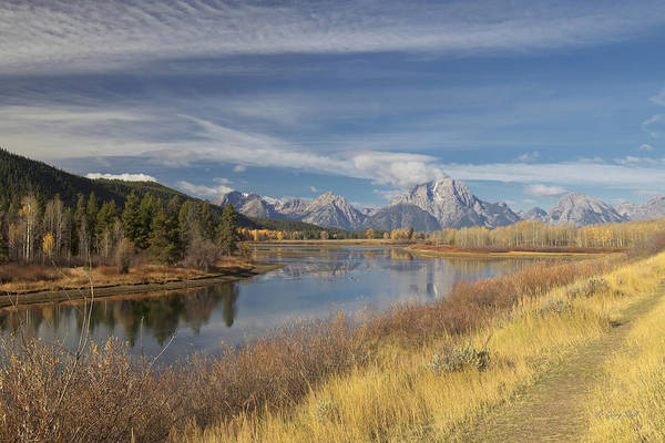 Photograph - Oxbow Bend Grand Tetons by Gerry Sibell