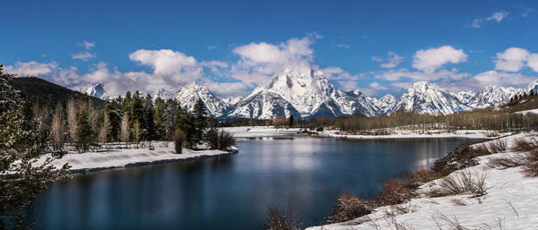 Photograph - Oxbow Bend In Winter by TL Mair