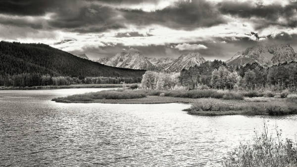Photograph - Oxbow Bend by Jim Garrison