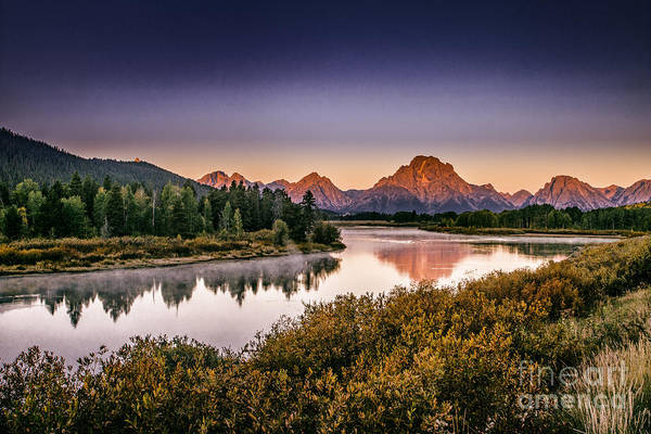 Photograph - Oxbow Bend by Mark Jackson