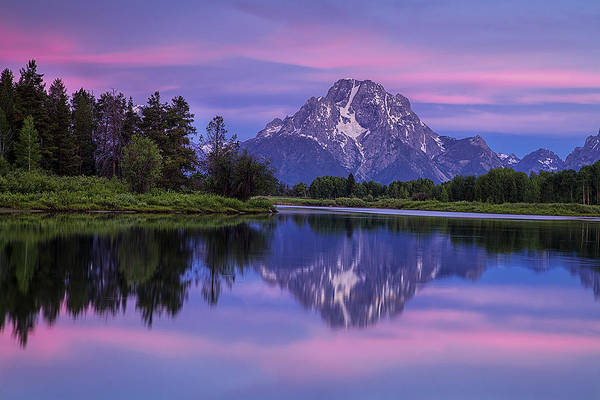 Oxbow Park Photograph - Oxbow Morning by Andrew Soundarajan