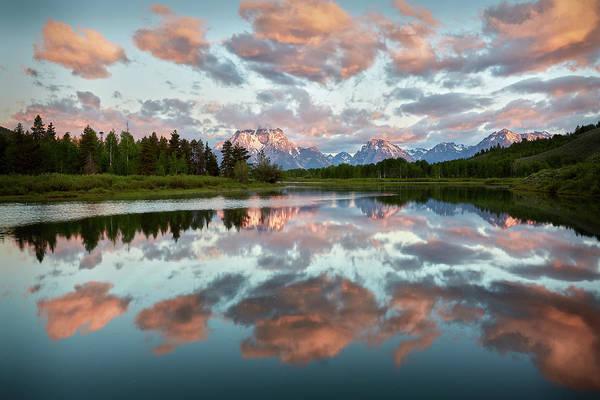 Photograph - Oxbow Sunrise by Jon Glaser