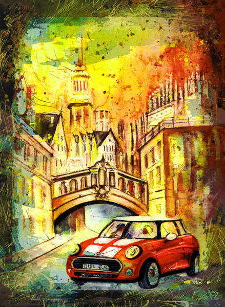 Painting - Oxford Authentic Madness by Miki De Goodaboom