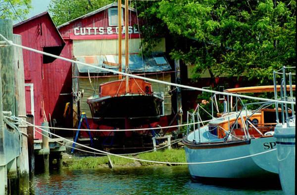 Oxford Boat Works Art Print