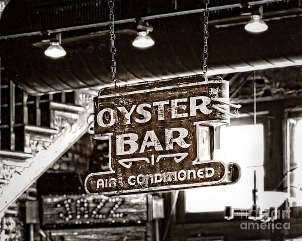 Nola Photograph - Oyster Bar by Jarrod Erbe