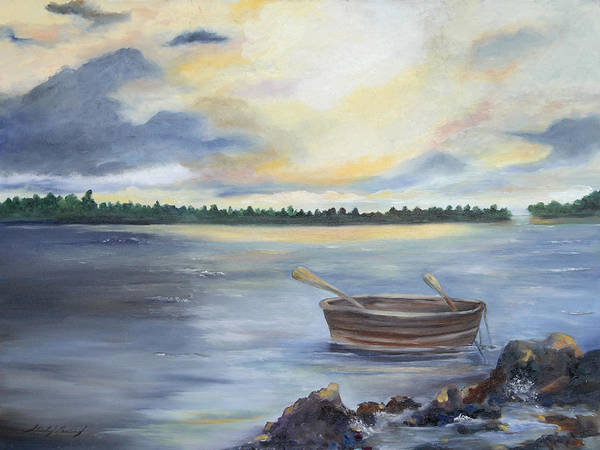 Wall Art - Painting - Oyster Bay by Shirley Lawing