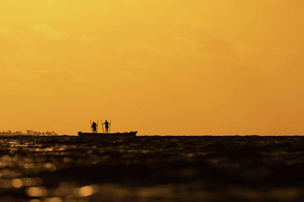 Photograph - Oystermen At Sunrise by Eilish Palmer