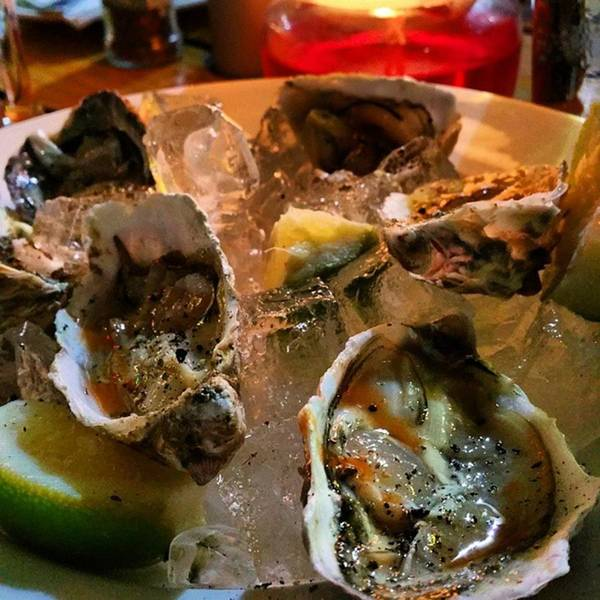 Photograph - #oysters  #omnomnomnom  #whoopwhoop by Jaynie Lea