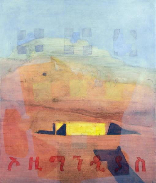 Nile Painting - Ozymandias by Charlie Millar