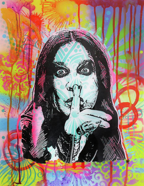 Black Sabbath Wall Art - Painting - Ozzy by Dean Russo Art
