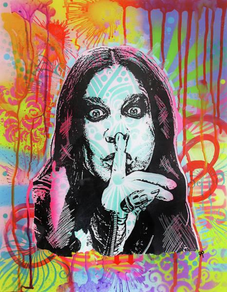 Ozzy Osbourne Wall Art - Painting - Ozzy by Dean Russo Art