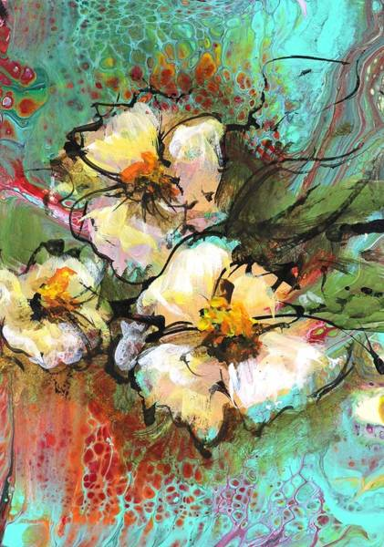Wall Art - Painting - P 137  by Karen Hale