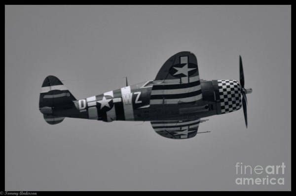 Wall Art - Photograph - P-47 Thunderbolt by Tommy Anderson