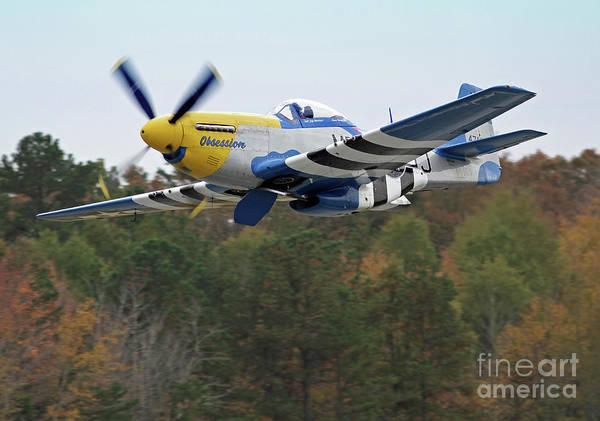 Photograph - P-51 Mustang Aircraft 3 by Kevin McCarthy