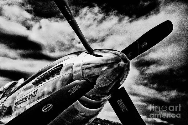 Photograph - P-51 Mustang by Paul W Faust - Impressions of Light