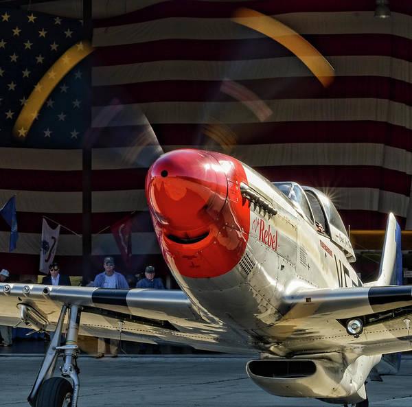 Photograph - P-51 The Rebel by David Hart