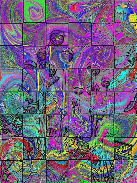Poppies Digital Art - P Patch Poppies 2 by Tim Allen