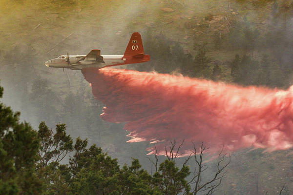 Photograph - P2v Drops In Ferguson Canyon by Bill Gabbert