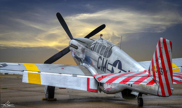 Photograph - P51-b Mustang by Philip Rispin