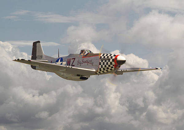 Wall Art - Digital Art - P51 Mustang - Ww2 Classic Icon by Pat Speirs