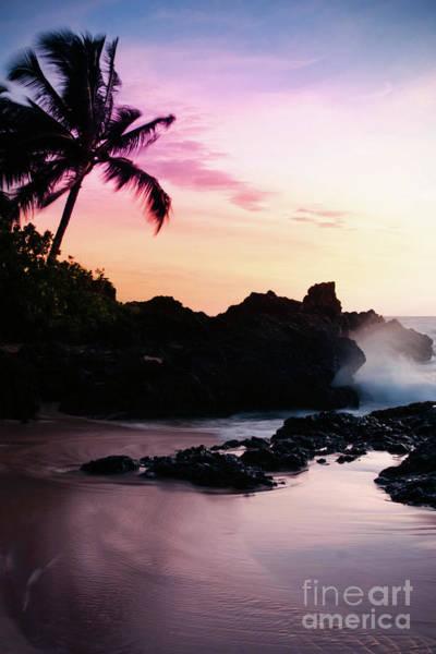 Photograph - Paako Beach Sunset Jewels by Sharon Mau