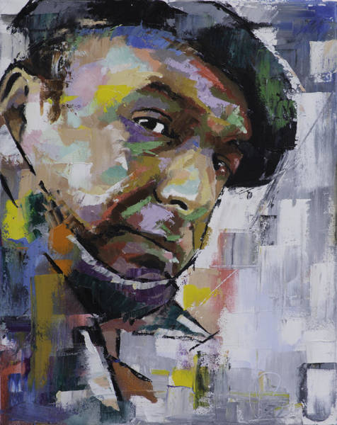 Poetry Painting - Pablo Neruda by Richard Day